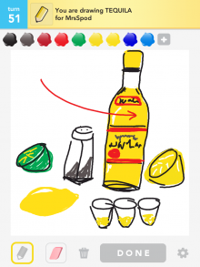 Drawsomething Tequila