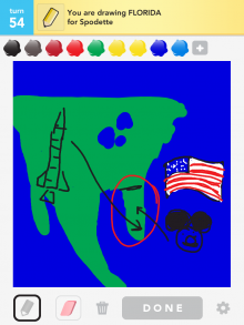 Drawsomething Florida