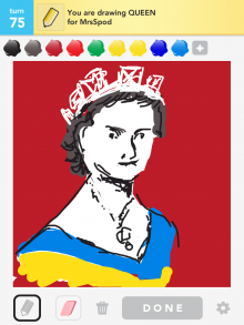 Drawsomething Queen