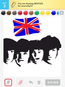Drawsomething Beatles