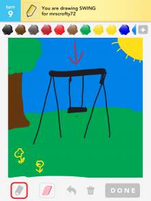 Drawsomething Swing
