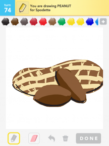 Drawsomething Peanut