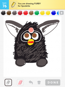 Drawsomething Furby