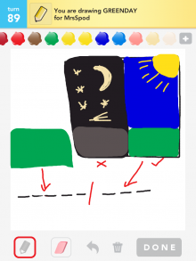 Drawsomething Greenday