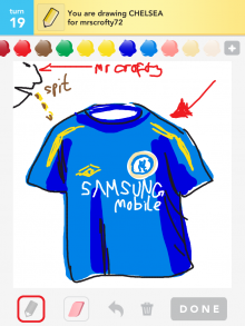 Drawsomething Chelsea