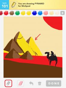 Drawsomething Pyramid