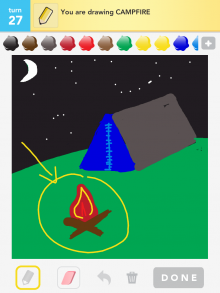 Drawsomething Campfire