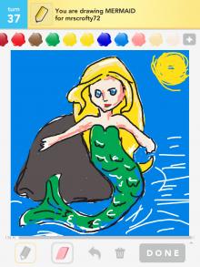 Drawsomething Mermaid
