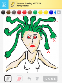 Drawsomething Medusa