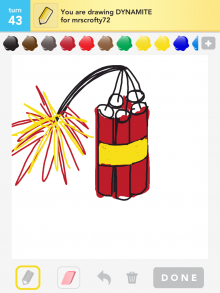 Drawsomething Dynamite
