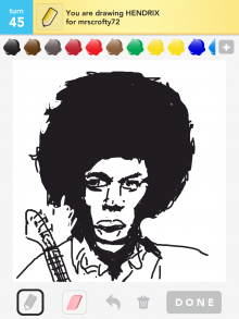 Drawsomething Hendrix