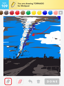 Drawsomething Tornado