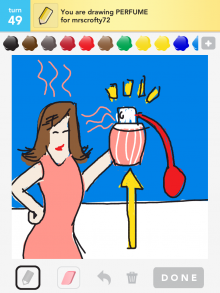 Drawsomething Perfume