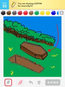 Drawsomething Coffin