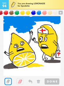 Drawsomething Lemonade