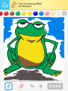 Drawsomething Frog