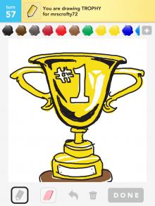 Drawsomething Trophy
