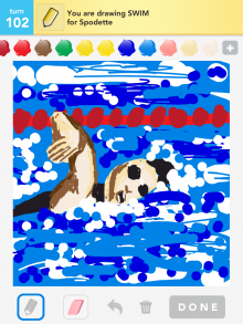 Drawsomething Swim
