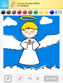 Drawsomething Angel