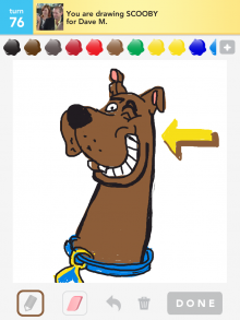 Drawsomething Scooby