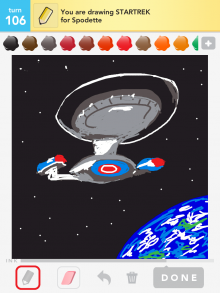 Drawsomething Startrek