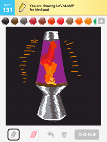Drawsomething Lavalamp