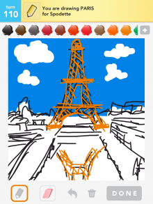 Drawsomething Paris