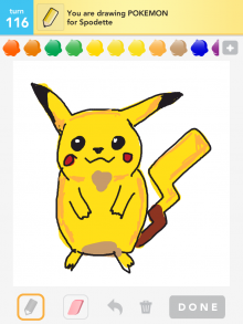 Drawsomething Pokemon