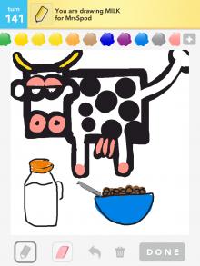 Drawsomething Milk