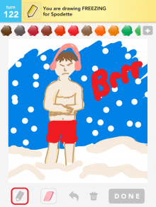 Drawsomething Freezing