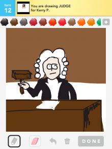 Drawsomething Judge