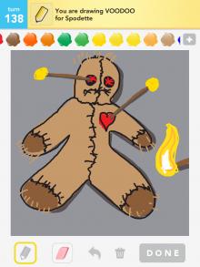 Drawsomething Voodoo