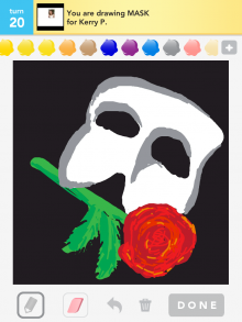 Drawsomething Mask