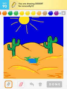 Drawsomething Desert