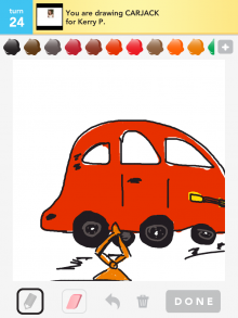 Drawsomething Carjack