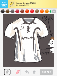 Drawsomething Spurs