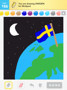 Drawsomething Sweden