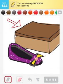 Drawsomething Shoebox