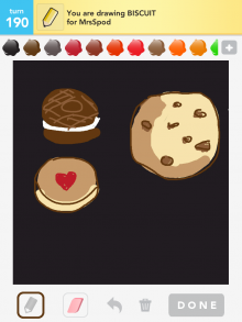 Drawsomething Biscuit