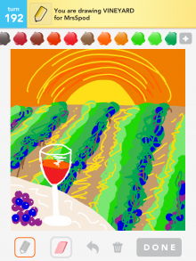 Drawsomething Vineyard