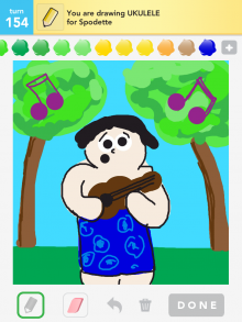 Drawsomething Ukulele