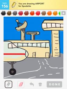 Drawsomething Airport