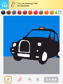 Drawsomething Taxi