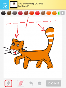 Drawsomething Cattail