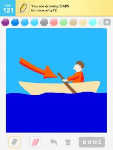 Drawsomething Oars