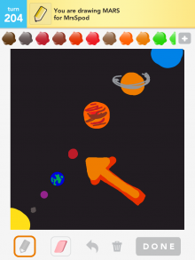 Drawsomething Mars
