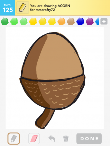 Drawsomething Acorn