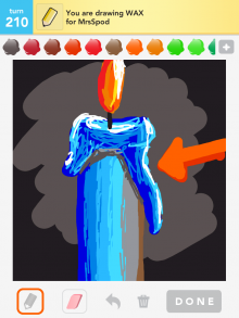 Drawsomething Wax