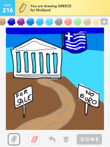 Drawsomething Greece