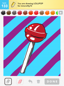 Drawsomething Lolipop